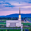 Star Valley Temple - Southern Valley Twilight