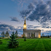 Star Valley Temple - Morning Clouds