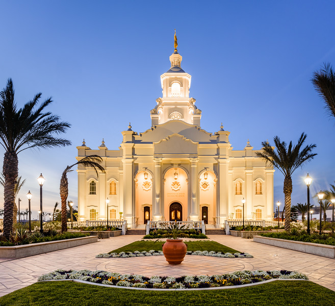 Tijuana Temple Twilight