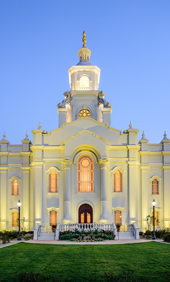 Tijuana Temple - Twilight