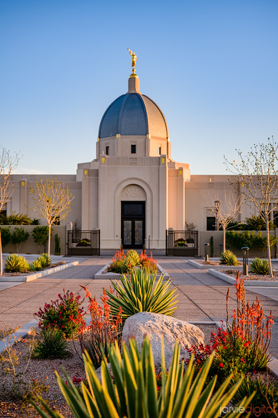 Tucson Arizona Temple_4359
