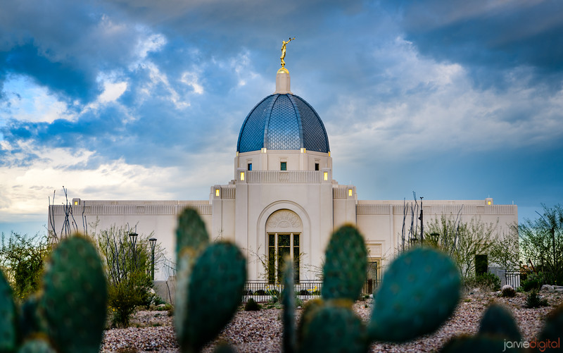 Tucson Arizona Temple_4406
