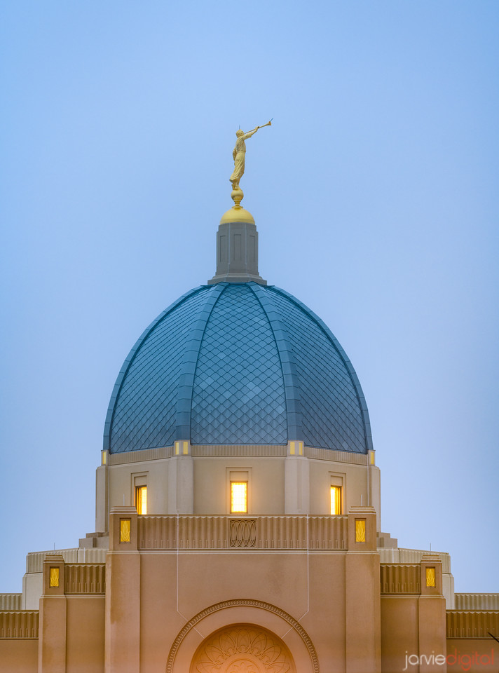 Tucson LDS Temple - the dome