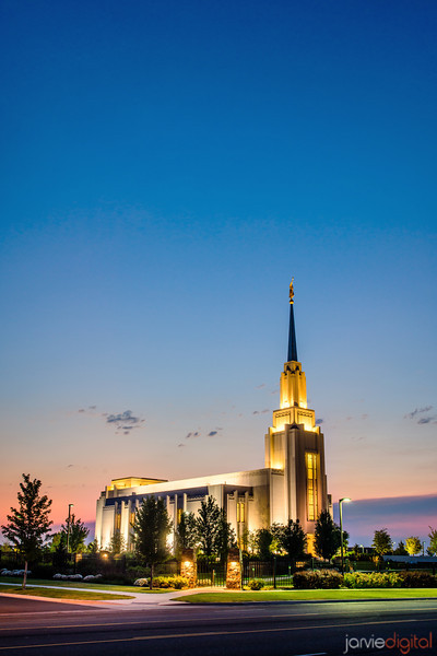 Twin Falls Temple (across the street)