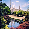 Washington DC Temple Day Reflection