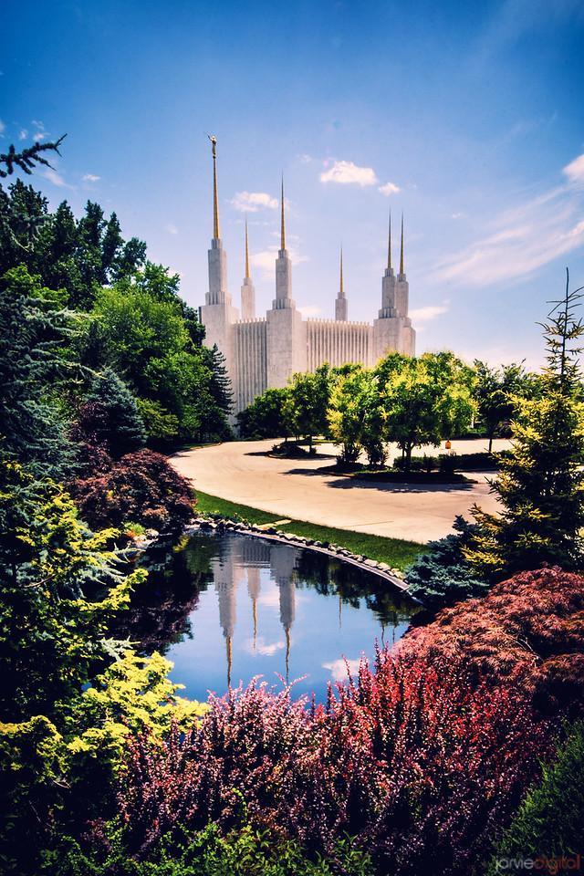 Washington DC Temple Day Reflection