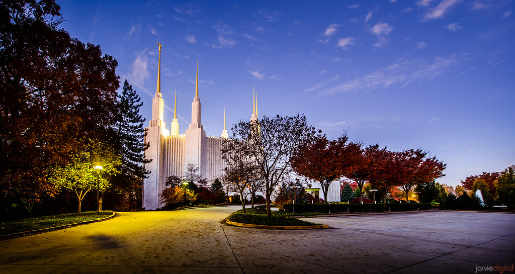 DC Temple Monday morning