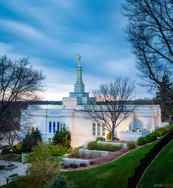 Winter Quarters Temple - From the hill