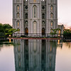 SLC Temple Reflection