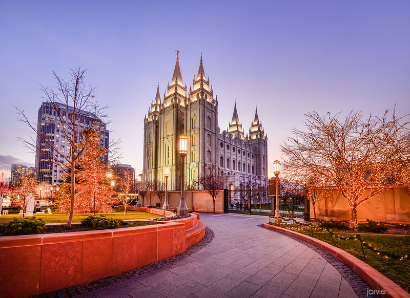 Salt Lake Temple - Christmas at Temple Square