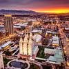 Salt Lake Valley from above