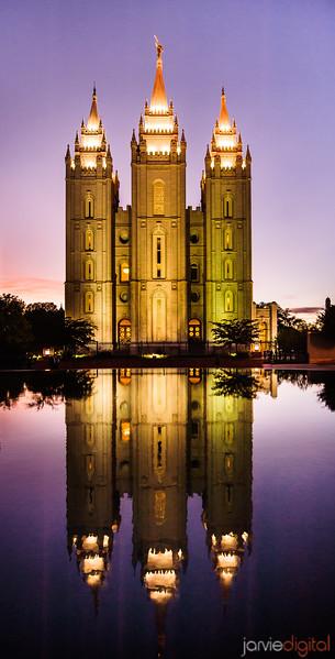 SLC Temple Purple