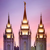 Salt Lake Temple - Spires