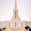 Jordan River LDS Temple - Early Morning Twilight