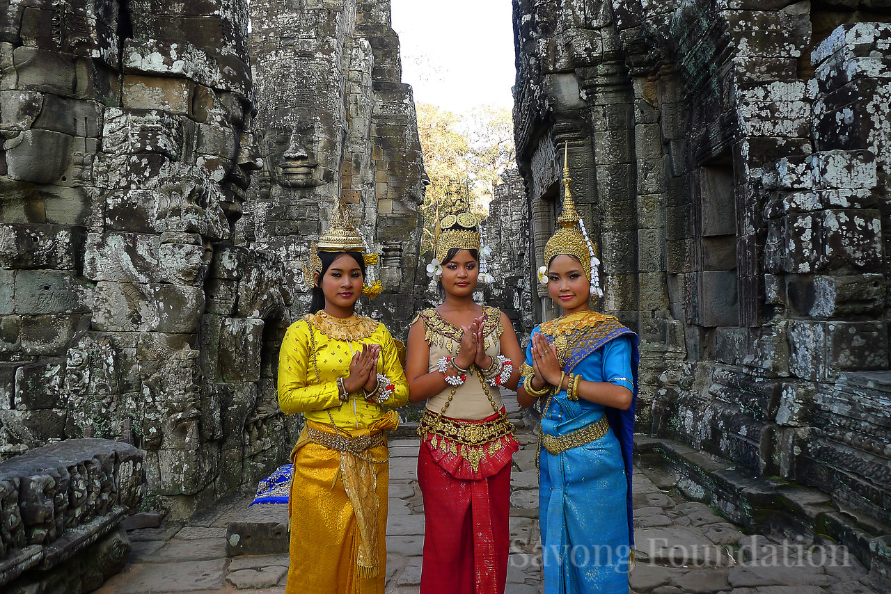 The Ladies of the Bayon