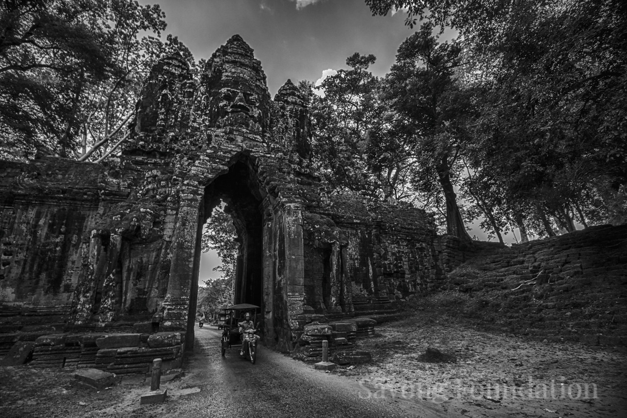 Gate at Angkor Thom