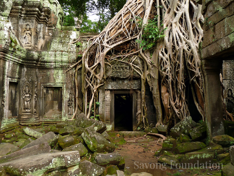 The Doorway at Ta Prohm