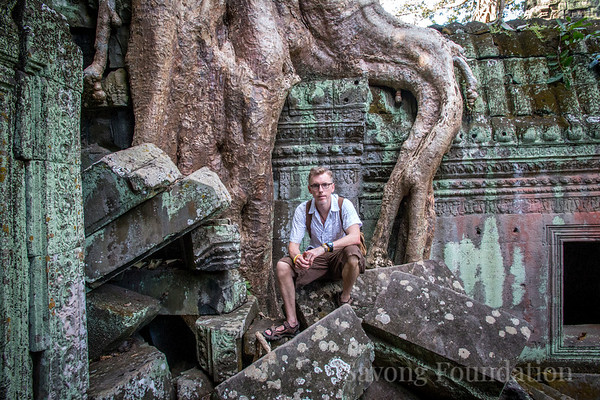 Dr. Phil at the Angkor Temples
