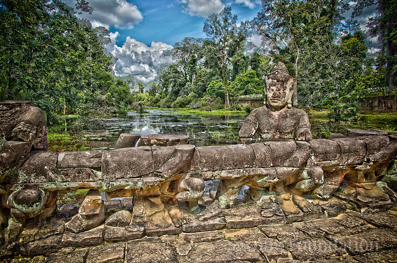 The Bridge at Preah Khan.