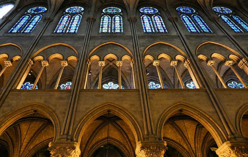 Interior da Catedral de Notre Dame