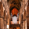 Interior da Catedral de Glasgow
