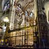 Interior da Catedral de Toledo