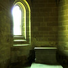Interior da Abadia do Monte St. Michel