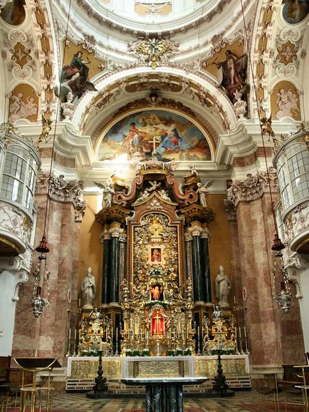 Interior da Catedral de Innsbruck