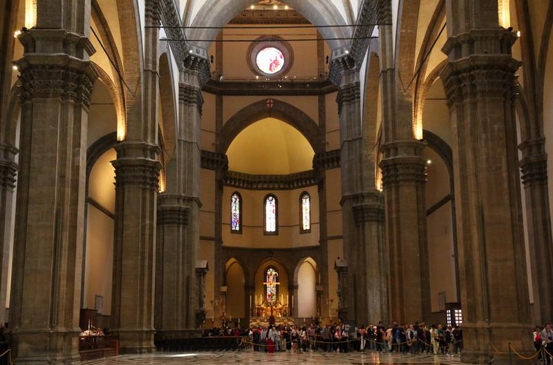 Interior da Catedral de Santa Maria del Fiore