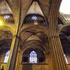 Interior da Catedral de Barcelona