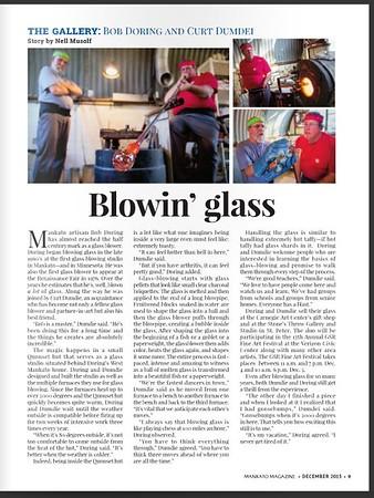 Featured in the Mankato Magazine
