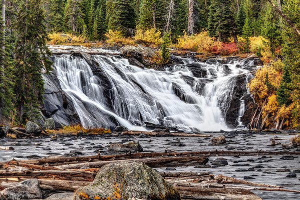 Lewis Falls in Autumn