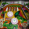 Hulk Pinball - Upper playfield