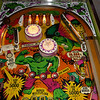 Hulk Pinball - Upper playfield Illuminated