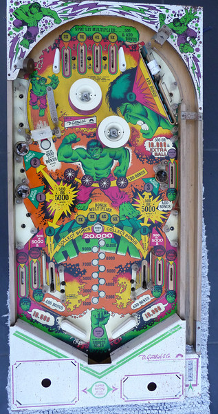 Spare Hulk Playfield - Better condition than one currently fitted.