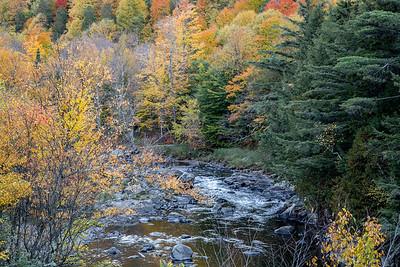 October in Adirondacks, near Lake Placid