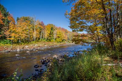 October in Adirondacks (Moose River)