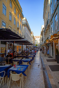 Lisbon Outdoor Dining