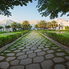 Taj Falaknuma Palace Courtyard