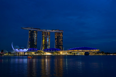 The famous Marina Bay Sands