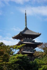 Pagota in Sankeien Garden