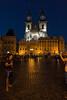 Old Prague at Night