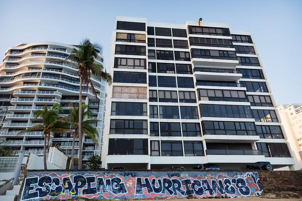 Escaping Hurricane's