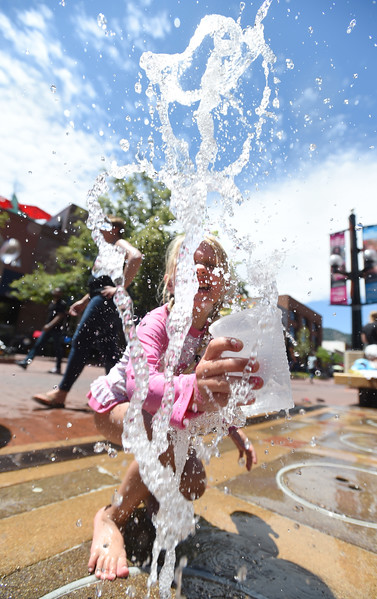 Hot Temperatures On 1st Day of Summer