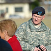 06 JAN 2011 - 11th Engineer CoC LTC Smith to LTC Hussin.  Stillwell Field, MCoE, Fort Benning, GA.  Photo by John D. Helms john.d.helms@us.army.mil