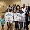 (FORT BENNING, Ga) Soldiers with the 14th Combat Support Hospital return from a nine month deployment to Afghanistan, June 19, 2013 at Freedom Hall. (Photo by Ashley Cross/MCoE PAO Photographer)