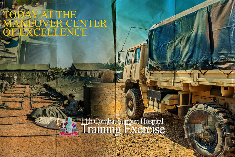 14th Combat Support Hospital Training Exercise