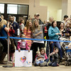 (FORT BENNING, Ga.) Soldiers from the 3rd Infantry Division, 3rd Armored Brigade Combat Team, return home from a nine month deployment, Friday, February 1, 2013 at Freedom Hall. (Photo by Ashley Cross/MCoE PAO Photographer)