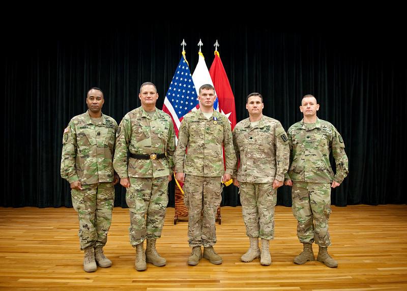 Soldier's Medal Presentation to Staff Sgt. David Mensink
