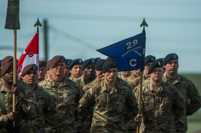 1st security force assistance brigade activation ceremony fort